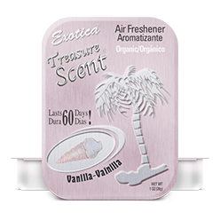 Treasure Scent Tin. Vanilla
