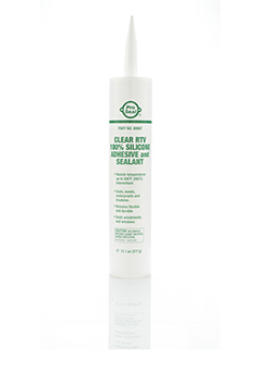 Clear RTV Silicone Adhesive & Sealant, 314 g