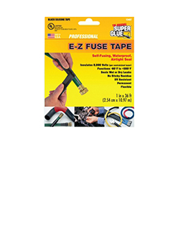 E-Z Fuse Tape, Black 36ft,  Super Glue