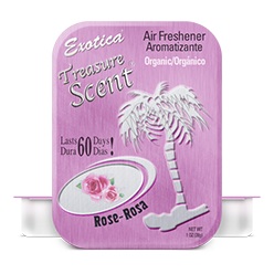 Treasure Scent Tin. Rose