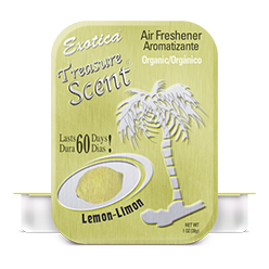 Treasure Scent Tin. Lemon