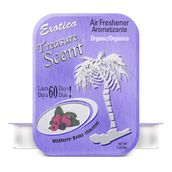 Treasure Scent Tin. Wildberry