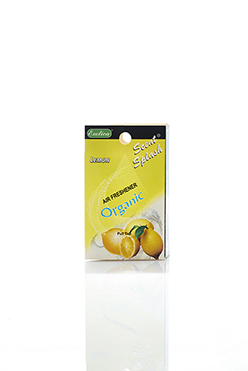 Scent Splash Organic Display. Lemon