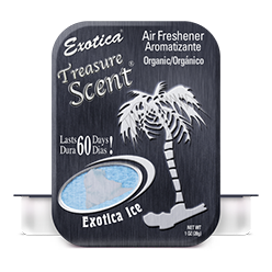 Treasure Scent Tin. Exotica Ice