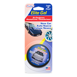 Elite Gel Blister Card. New Car